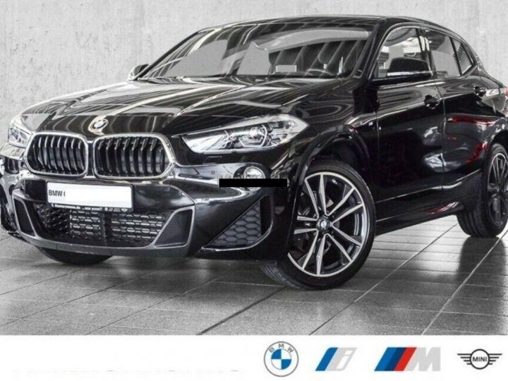 BMW X2  sDrive18d Aut. 150  Pack M Sport 08/2019 noir métal - 1
