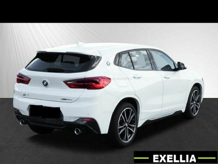 BMW X2 X2 18d xDRIVE  blanc peinture métalisé Occasion - 3