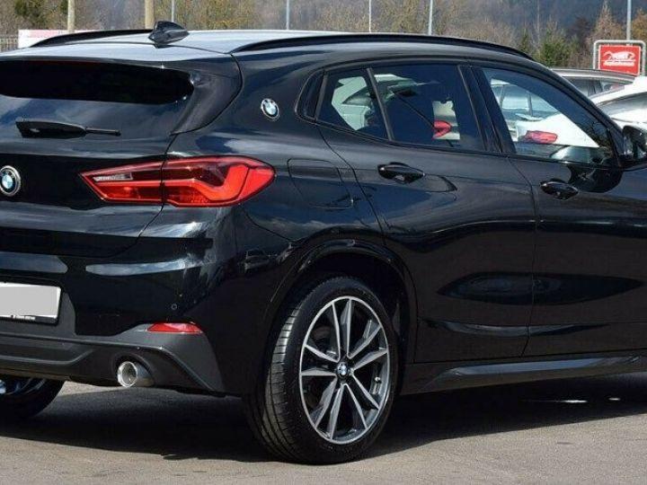 BMW X2 xDrive20d 190 Auto M Sport 01/2019 noir métal - 4