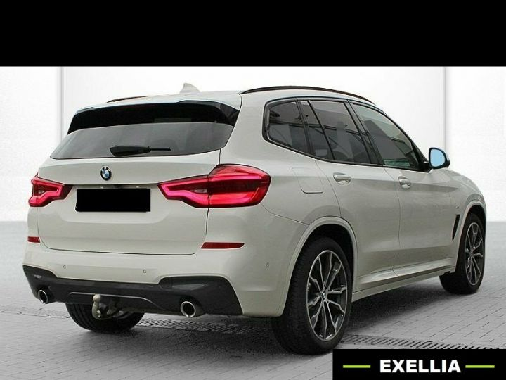 BMW X3 30 XDRIVE DA SPORTPACKET BLANC  Occasion - 3