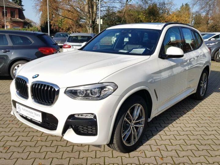 BMW X3 BMW X3 xDrive 20d M Sport blanc - 1