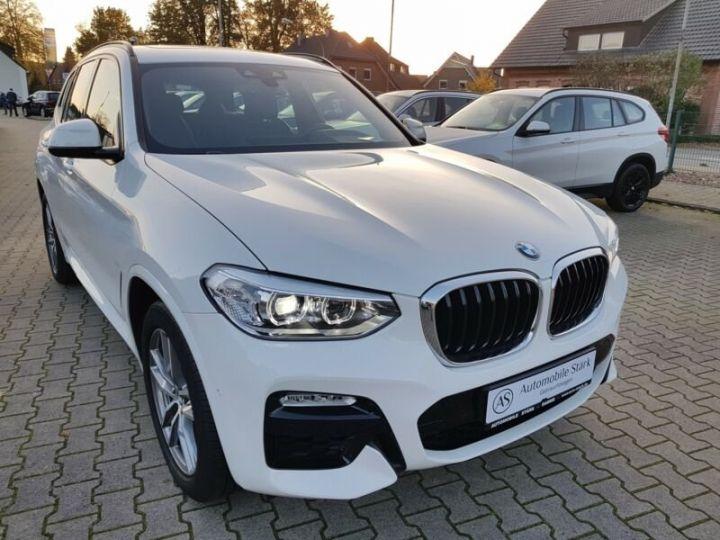 BMW X3 BMW X3 xDrive 20d M Sport blanc - 3