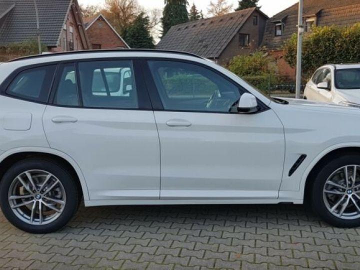 BMW X3 BMW X3 xDrive 20d M Sport blanc - 4