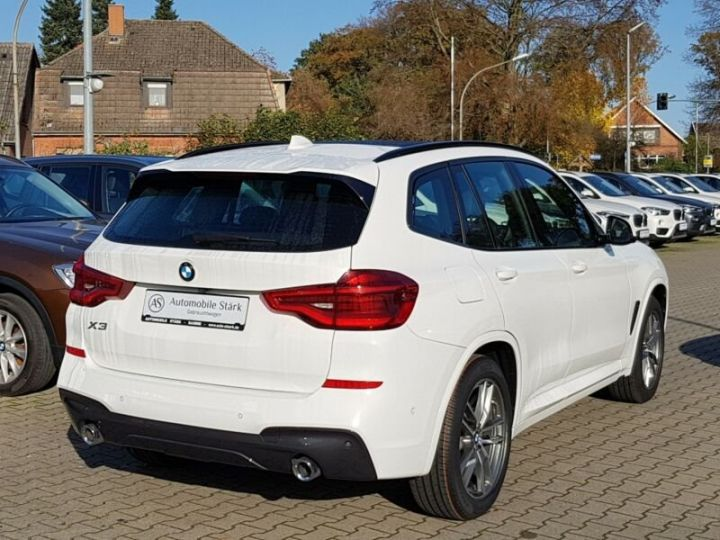 BMW X3 BMW X3 xDrive 20d M Sport blanc - 6
