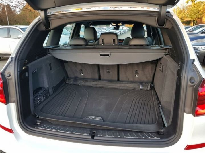 BMW X3 BMW X3 xDrive 20d M Sport blanc - 7
