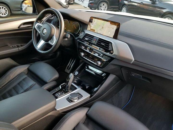 BMW X3 BMW X3 xDrive 20d M Sport blanc - 11