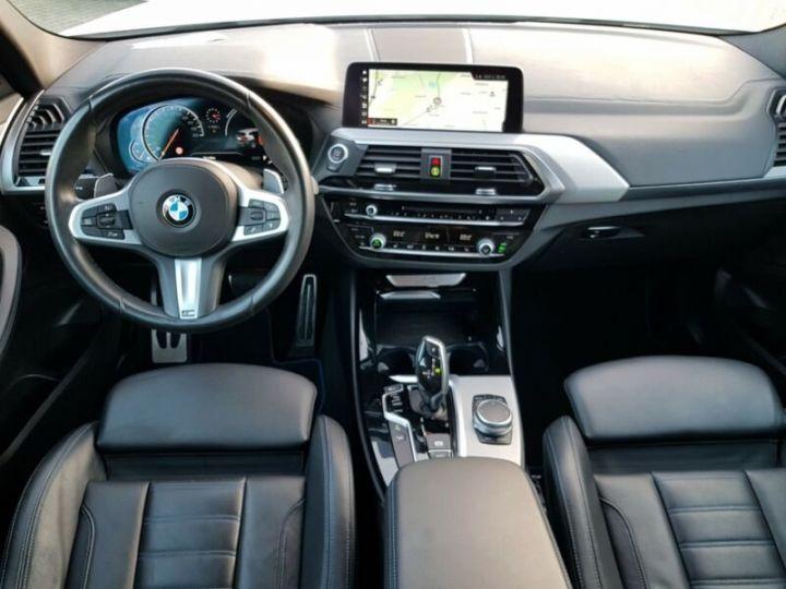 BMW X3 BMW X3 xDrive 20d M Sport blanc - 12