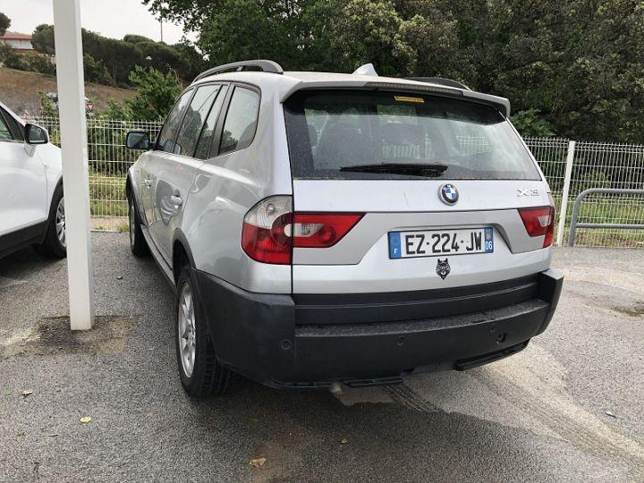 BMW X3 (E83) 2.0D 150CH LUXE Gris C - 1