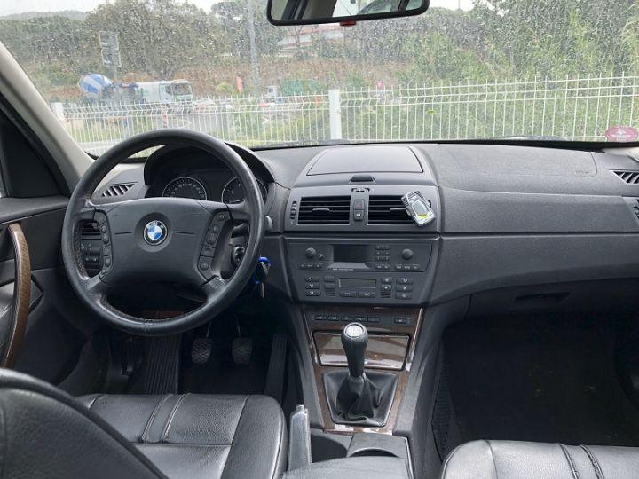 BMW X3 (E83) 2.0D 150CH LUXE Gris C - 2