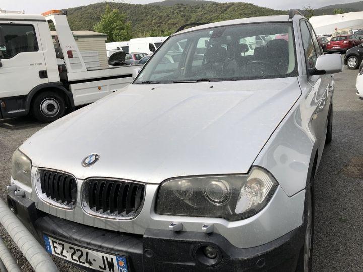 BMW X3 (E83) 2.0D 150CH LUXE Gris C - 3