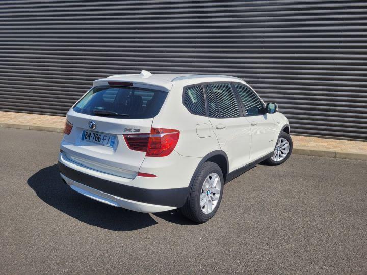 BMW X3 f25 xdrive20d 184 excellis bva8 Blanc Occasion - 7