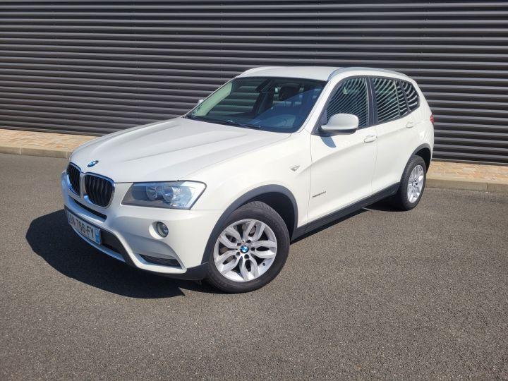 BMW X3 f25 xdrive20d 184 excellis bva8 Blanc Occasion - 8