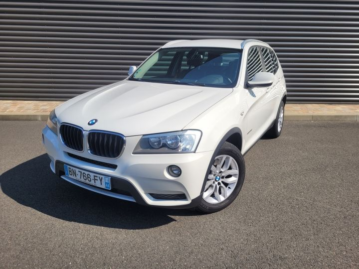 BMW X3 f25 xdrive20d 184 excellis bva8 ii Blanc Occasion - 1