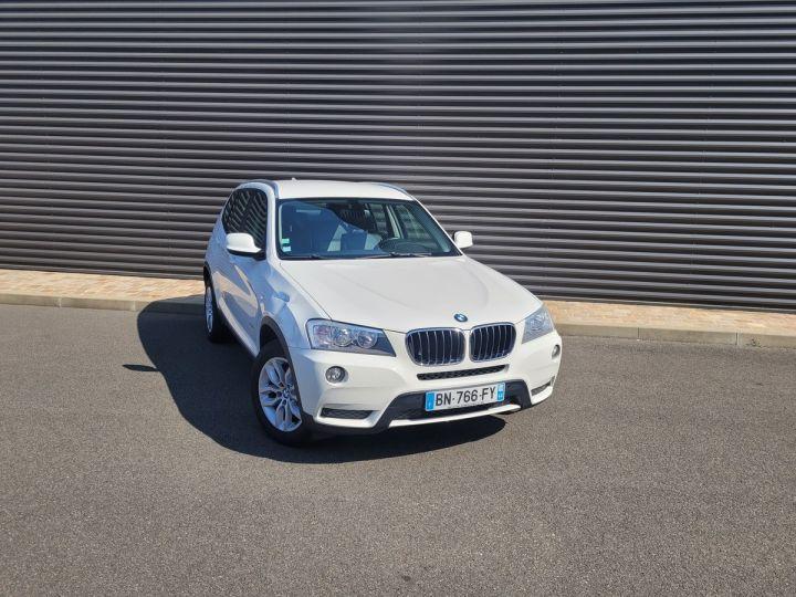 BMW X3 f25 xdrive20d 184 excellis bva8 ii Blanc Occasion - 2