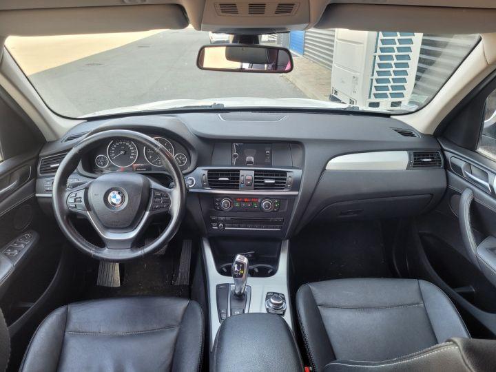 BMW X3 f25 xdrive20d 184 excellis bva8 ii Blanc Occasion - 4