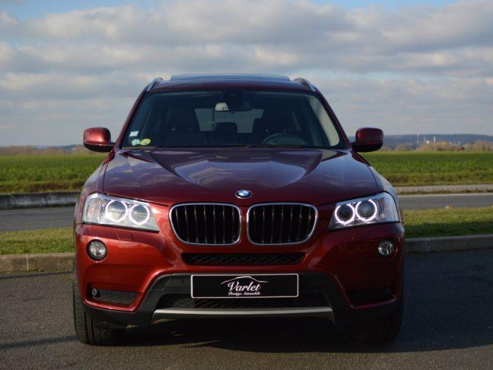 BMW X3 F25 XDRIVE20D 2.0l 184ch BVA8 LUXE 1ERE MAIN HISTORIQUE COMPLET KIT CHAINE DE DISTRIB NEUF ROUGE METAL - 2
