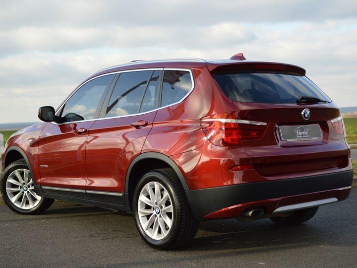 BMW X3 F25 XDRIVE20D 2.0l 184ch BVA8 LUXE 1ERE MAIN HISTORIQUE COMPLET KIT CHAINE DE DISTRIB NEUF ROUGE METAL - 6