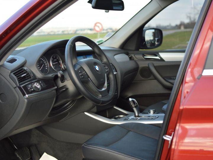 BMW X3 F25 XDRIVE20D 2.0l 184ch BVA8 LUXE 1ERE MAIN HISTORIQUE COMPLET KIT CHAINE DE DISTRIB NEUF ROUGE METAL - 7