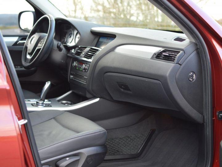 BMW X3 F25 XDRIVE20D 2.0l 184ch BVA8 LUXE 1ERE MAIN HISTORIQUE COMPLET KIT CHAINE DE DISTRIB NEUF ROUGE METAL - 11