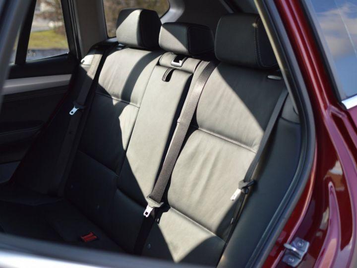 BMW X3 F25 XDRIVE20D 2.0l 184ch BVA8 LUXE 1ERE MAIN HISTORIQUE COMPLET KIT CHAINE DE DISTRIB NEUF ROUGE METAL - 14