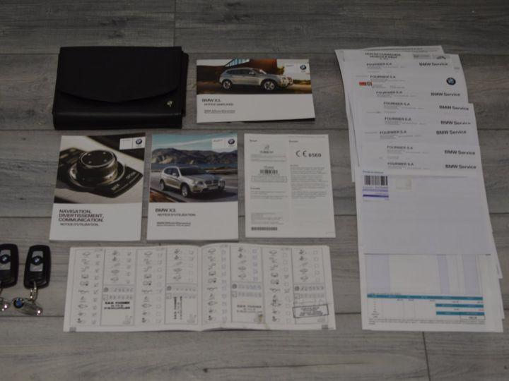 BMW X3 F25 XDRIVE20D 2.0l 184ch BVA8 LUXE 1ERE MAIN HISTORIQUE COMPLET KIT CHAINE DE DISTRIB NEUF ROUGE METAL - 21