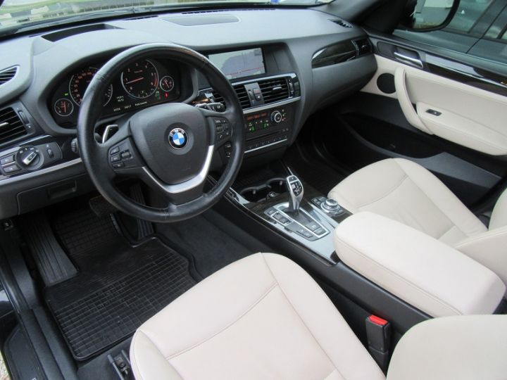 BMW X3 (F25) XDRIVE35DA 313CH EXCLUSIVE Noir Occasion - 2