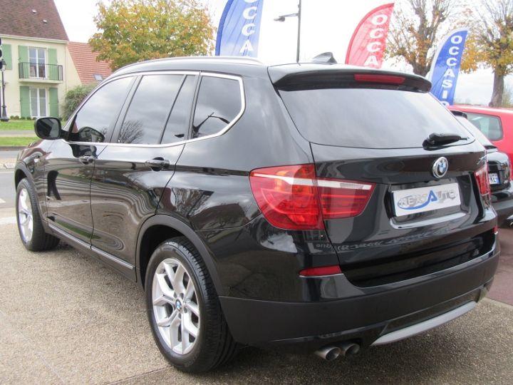 BMW X3 (F25) XDRIVE35DA 313CH EXCLUSIVE Noir Occasion - 3