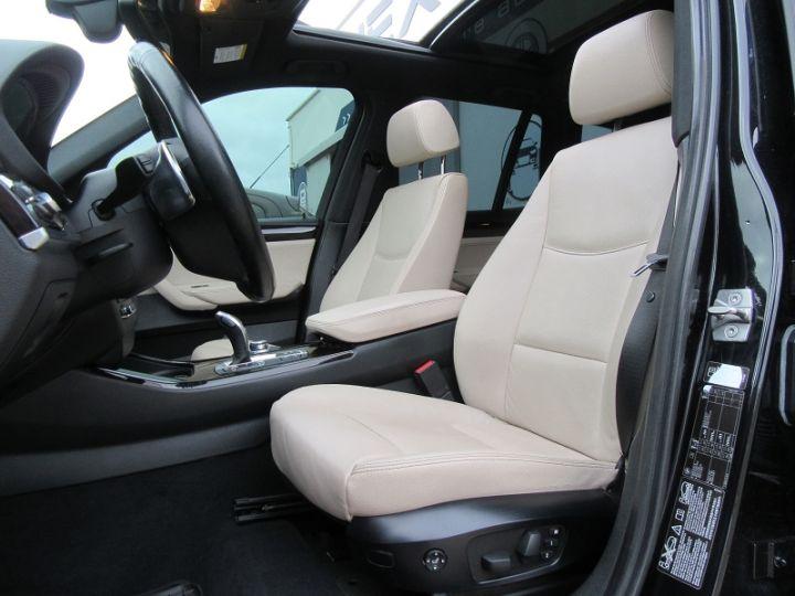 BMW X3 (F25) XDRIVE35DA 313CH EXCLUSIVE Noir Occasion - 4