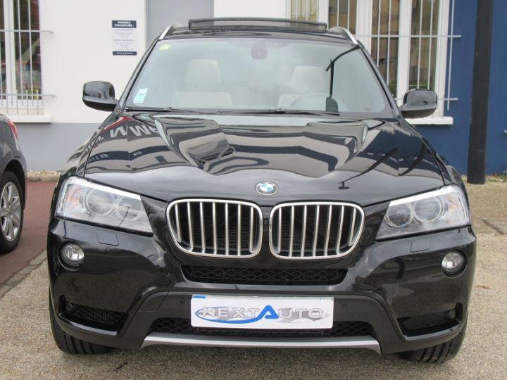 BMW X3 (F25) XDRIVE35DA 313CH EXCLUSIVE Noir Occasion - 6