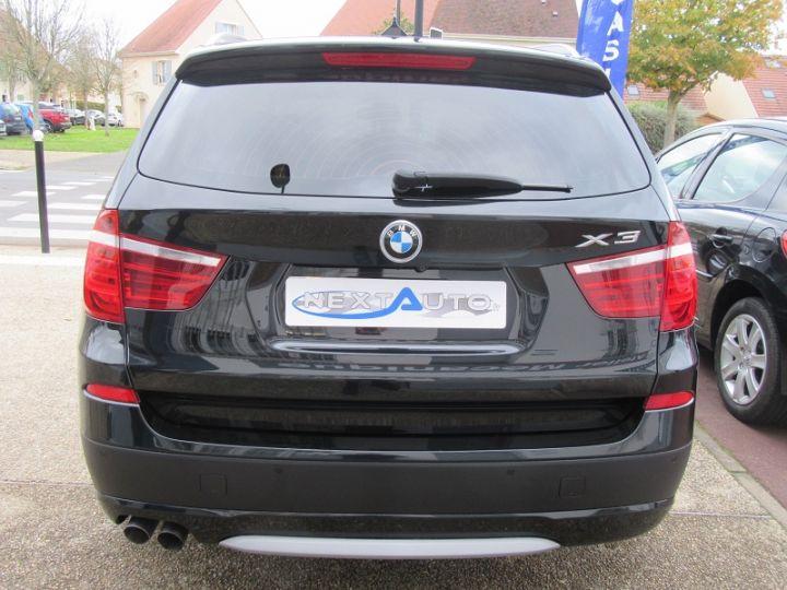 BMW X3 (F25) XDRIVE35DA 313CH EXCLUSIVE Noir Occasion - 7