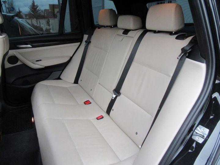 BMW X3 (F25) XDRIVE35DA 313CH EXCLUSIVE Noir Occasion - 8