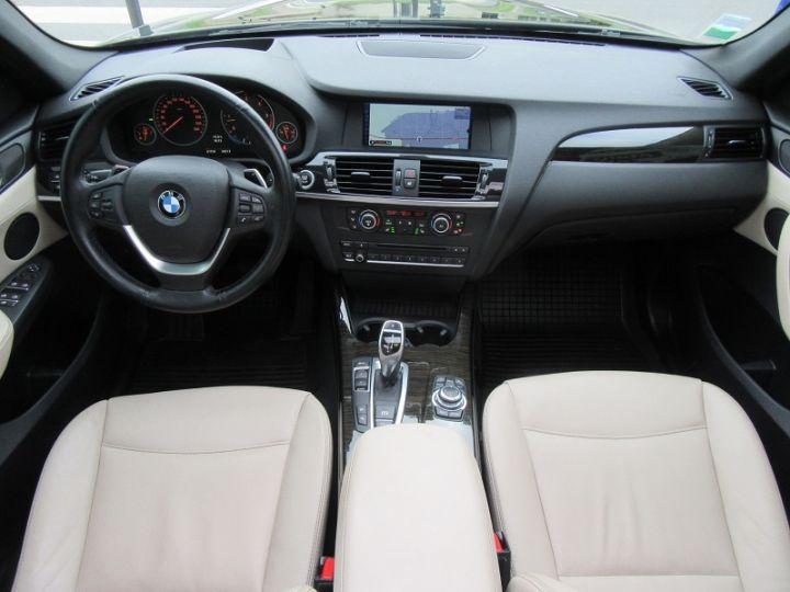 BMW X3 (F25) XDRIVE35DA 313CH EXCLUSIVE Noir Occasion - 9