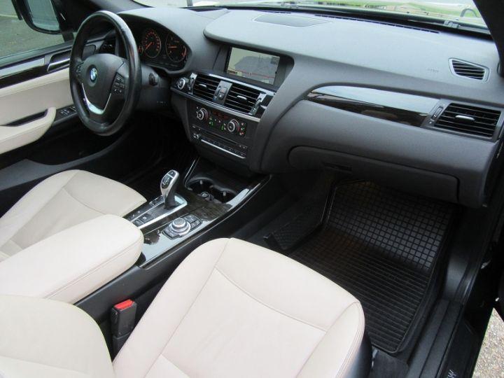 BMW X3 (F25) XDRIVE35DA 313CH EXCLUSIVE Noir Occasion - 10