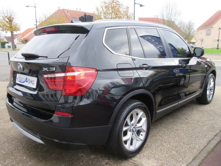 BMW X3 (F25) XDRIVE35DA 313CH EXCLUSIVE Noir Occasion - 13