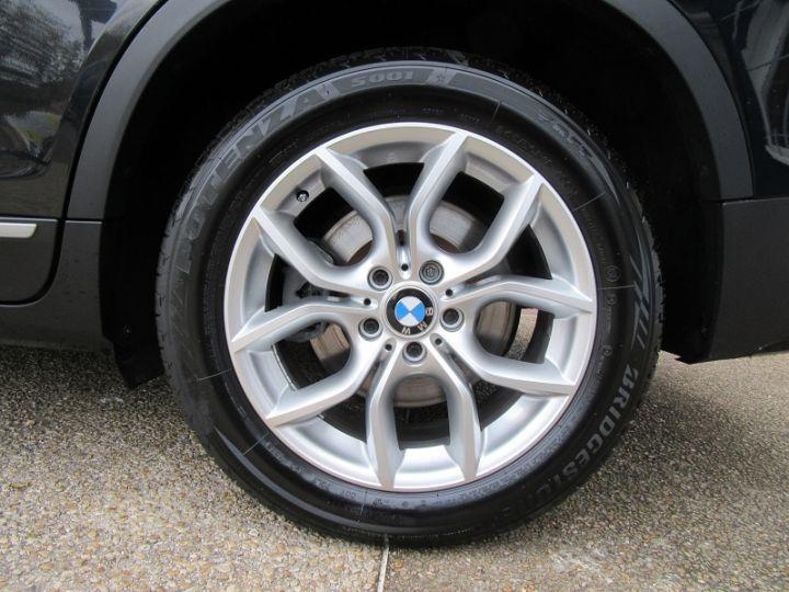 BMW X3 (F25) XDRIVE35DA 313CH EXCLUSIVE Noir Occasion - 15