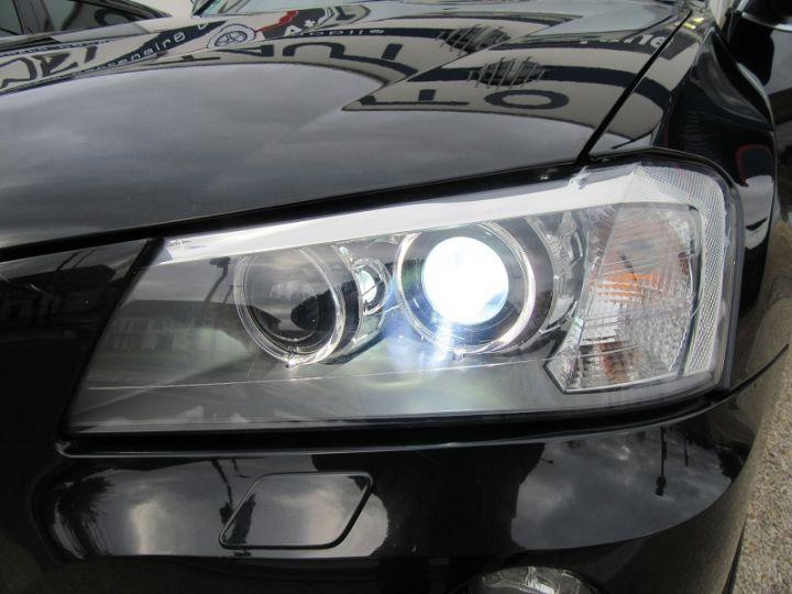 BMW X3 (F25) XDRIVE35DA 313CH EXCLUSIVE Noir Occasion - 17