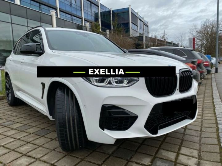 BMW X3 M COMPÉTITION  BLANC PEINTURE METALISE  Occasion - 1