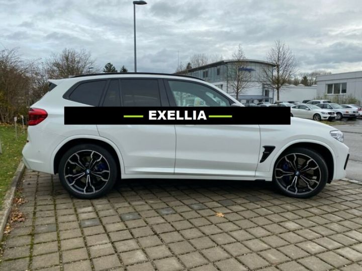 BMW X3 M COMPÉTITION  BLANC PEINTURE METALISE  Occasion - 14