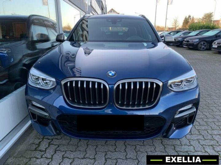 BMW X3 M40d  BLEU PEINTURE METALISE Occasion - 1