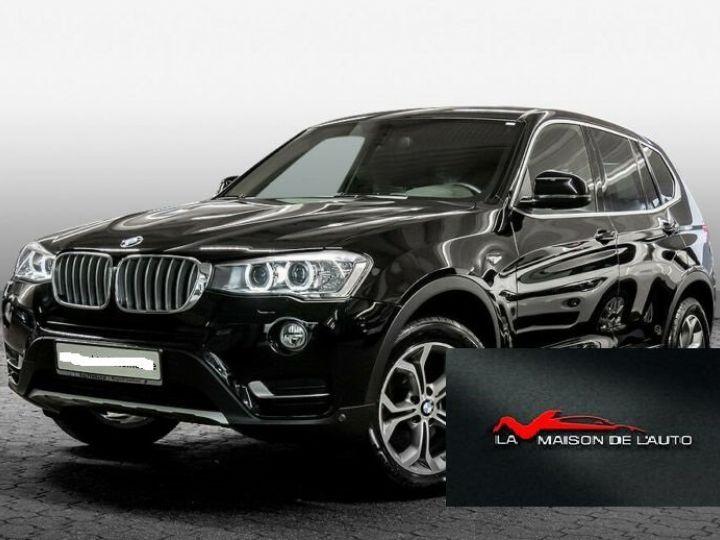 BMW X3 sDrive 18d X-Line  Noir - 1