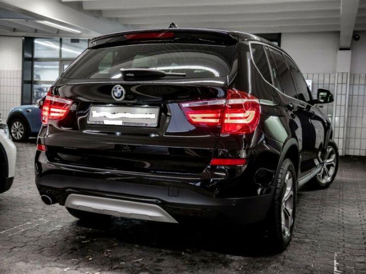 BMW X3 sDrive 18d X-Line  Noir - 3