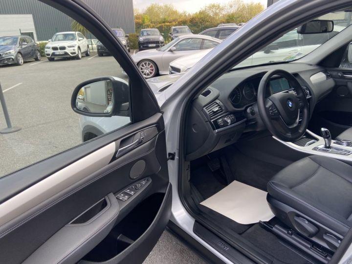 BMW X3 XDRIVE 20 D LOUNGE PLUS 190ch (F25) BVA8 GRIS CLAIR - 7