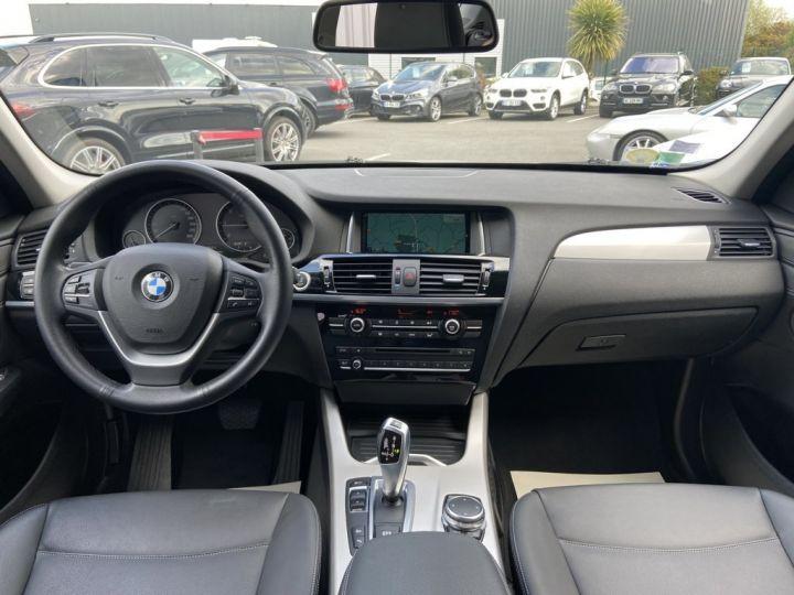 BMW X3 XDRIVE 20 D LOUNGE PLUS 190ch (F25) BVA8 GRIS CLAIR - 9
