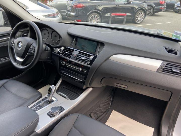 BMW X3 XDRIVE 20 D LOUNGE PLUS 190ch (F25) BVA8 GRIS CLAIR - 10