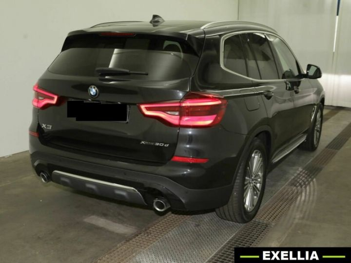 BMW X3 xDrive 30d Luxury Line NOIR PEINTURE METALISE  Occasion - 4