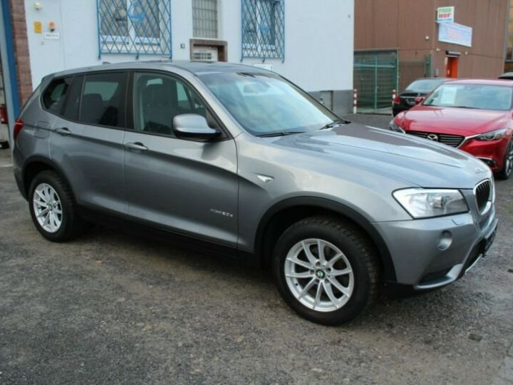 BMW X3 # xDrive20d Aut* Pano*1ere Main* 51367Kms Gris Peinture métallisée - 2