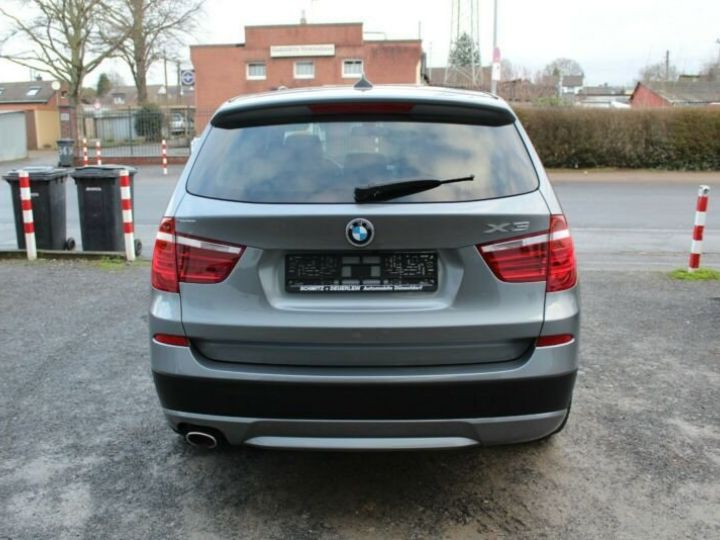 BMW X3 # xDrive20d Aut* Pano*1ere Main* 51367Kms Gris Peinture métallisée - 6