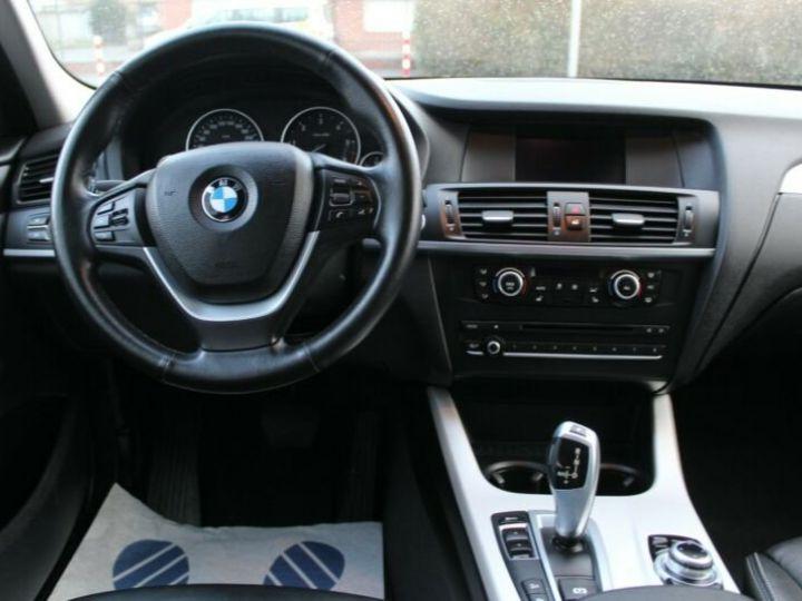 BMW X3 # xDrive20d Aut* Pano*1ere Main* 51367Kms Gris Peinture métallisée - 8