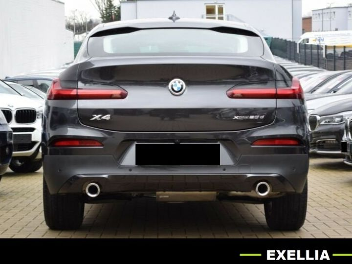 BMW X4 20D XDRIVE LUXURY  GRIS Occasion - 3