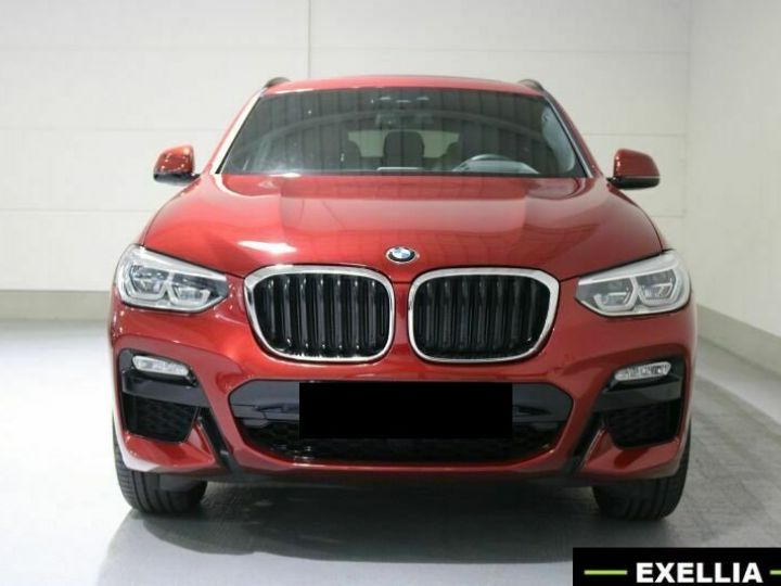 BMW X4 20d xDRIVE M  ROUGE PEINTURE METALISE  Occasion - 2